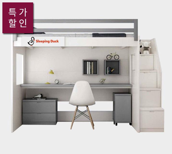 [렌탈]첼로 키즈 벙커 침대프레임 [매트리스미포함] / 월 43,800원