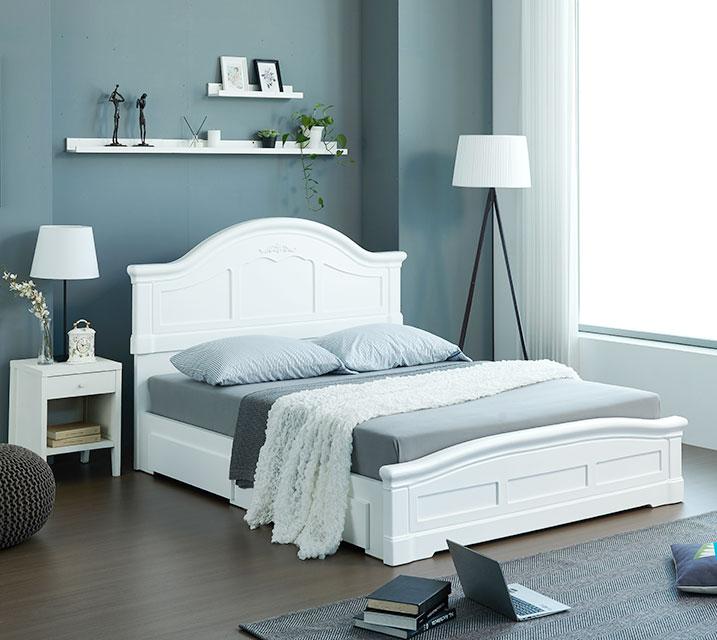 [렌탈] 젤리아 서랍형 침대 프레임 퀸(Q) / 월29,800원