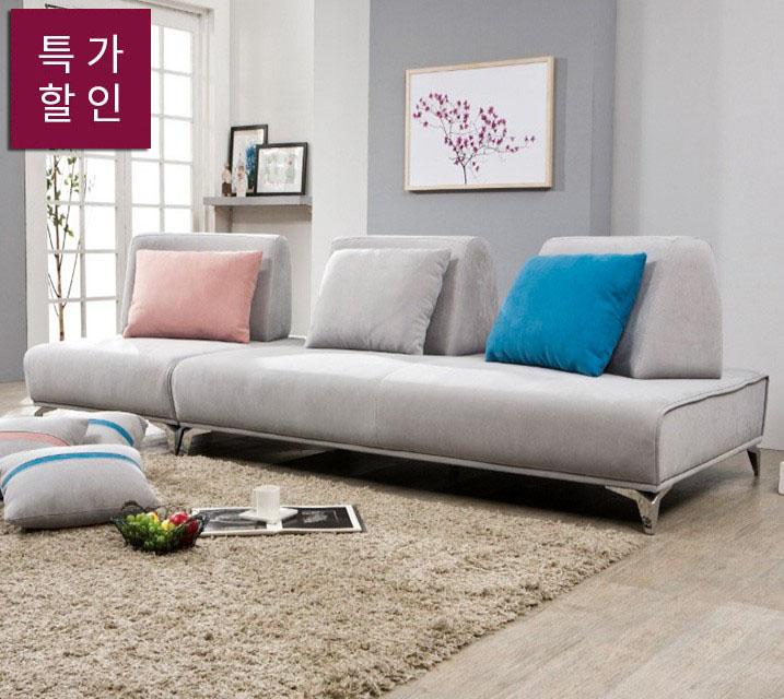 [렌탈] 샬롯 라누고 4인 쇼파 / 월 55,800원