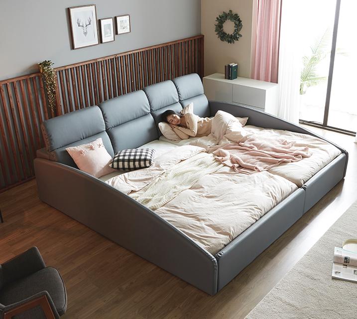 [렌탈] 휴버트 친환경 PU 패밀리 침대 / 월 63,800원
