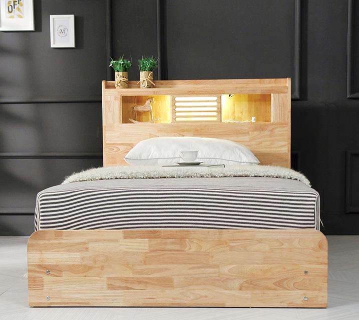 [렌탈] 알도 고무나무 침대 슈퍼싱글 (SS) / 월 17,800원