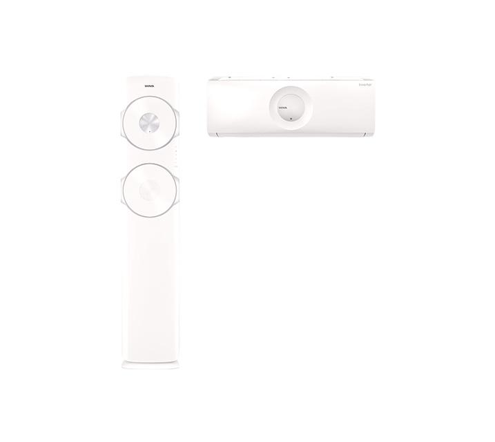 [렌탈] 위니아 2in1 둘레바람 고급 17평+7평 일반배관 BPVS17CDSSM / 월63,500원
