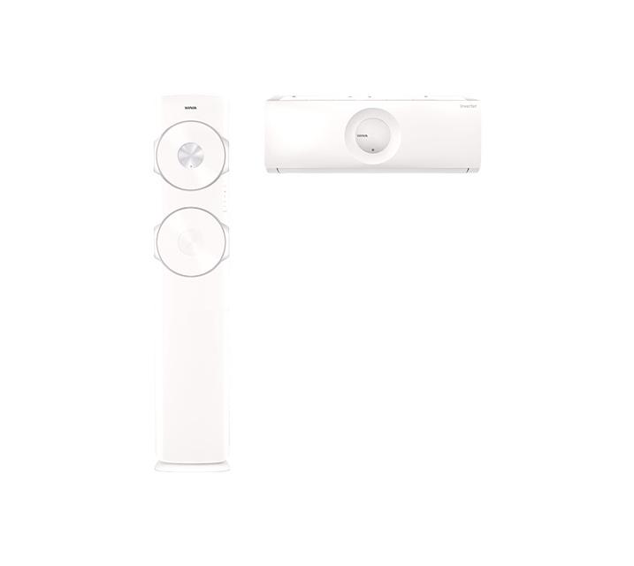 [렌탈] 위니아 2in1 둘레바람 일반 17평+7평 매립배관 BPVS17CDESM_R / 월59,500원