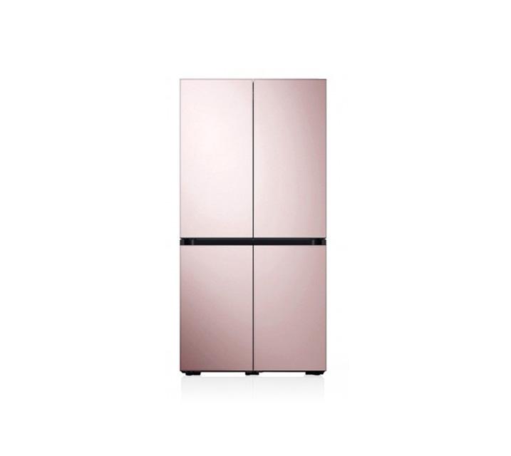 [L_렌탈] 삼성 비스포크 양문형 냉장고 4도어 글램핑크 871L RF85T901332 / 월58,700원
