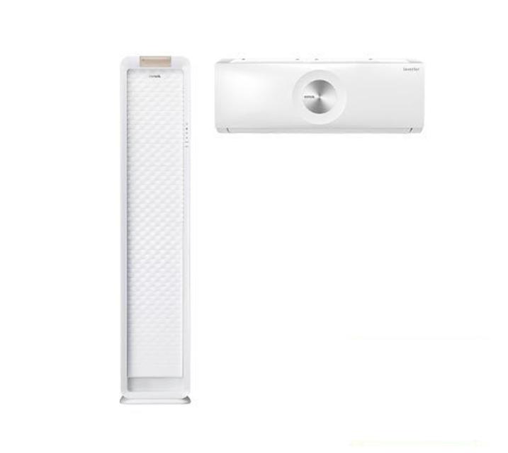[L_렌탈] 위니아 에어컨 스탠드17평+벽걸이 7평 화이트 WPVS17CWEGM  월49,600원