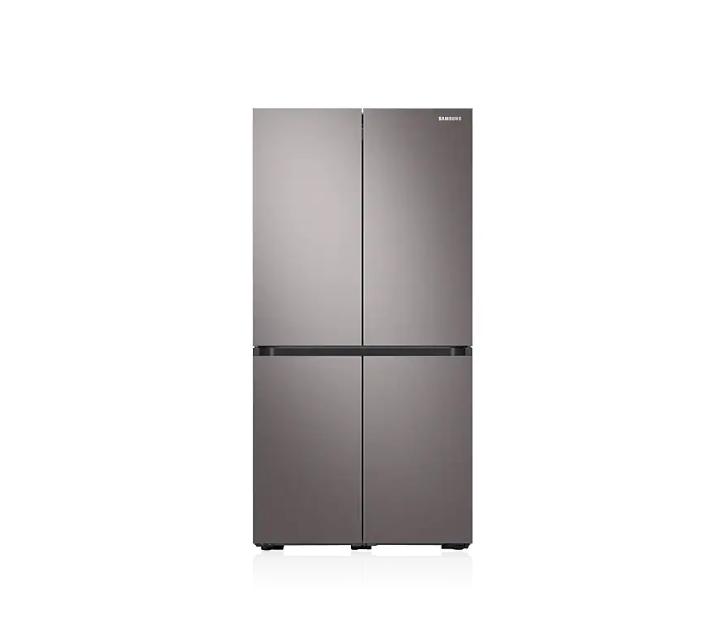 [L_렌탈] 삼성 냉장고 비스포크 871L 브라우니 실버 RF85R9013T1 / 월 54,400원