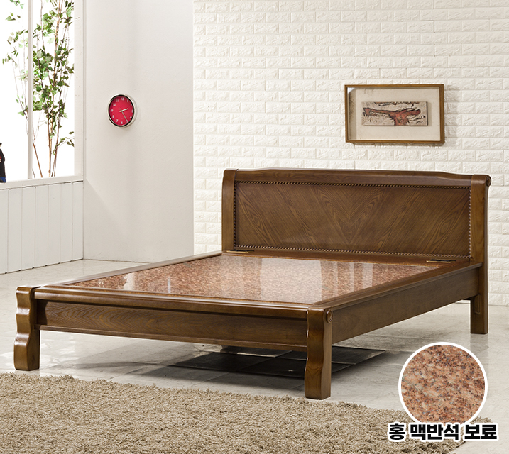 [렌탈] 누리보 Q 돌 흙침대 (홍맥반석보료) / 월39,800원