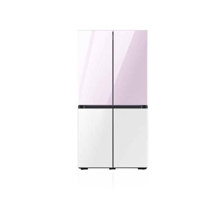 [렌탈] NEW 삼성 비스포크 4도어 냉장고 화이트 840L 라벤더+화이트 RF85T98A2APWH  / 월 108,000원