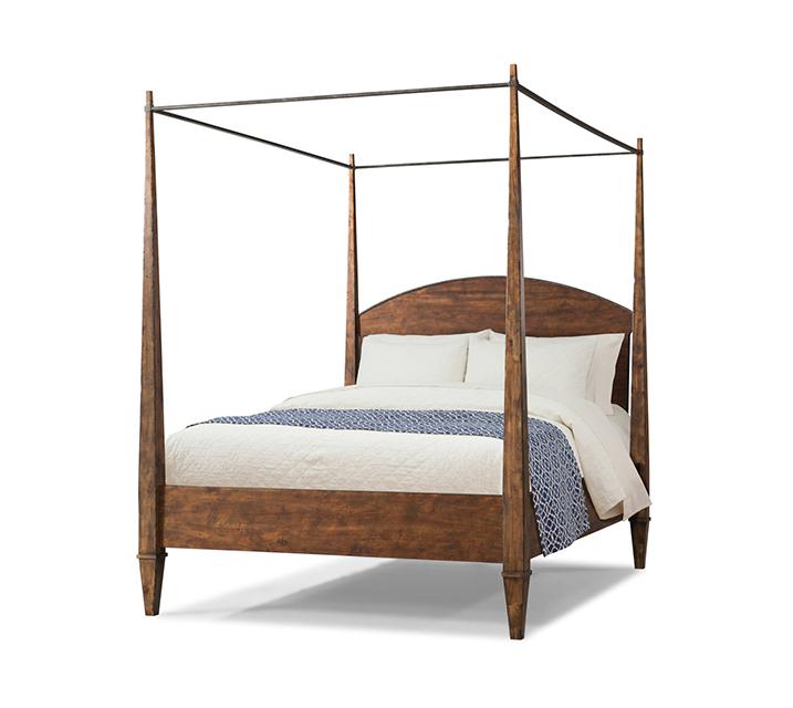 [렌탈] 920-550 Jasper Collection Canopy Q Bed / 월 67,800원