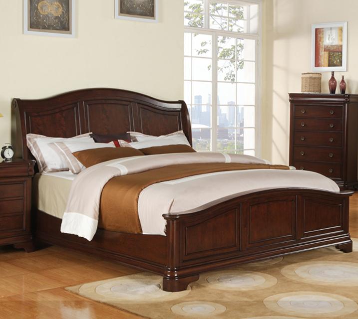 [렌탈] CM-750 Cameron Sleigh Q Bed / 월 45,800원