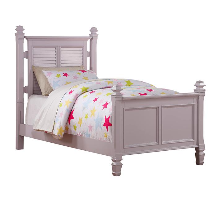[렌탈] 2697 'Belmar Youth' Collection - Twin Poster Bed  트윈 (싱글) 주니어 침대 [ 매트리스 포함 ] - 라벤더 / 월 65,800원