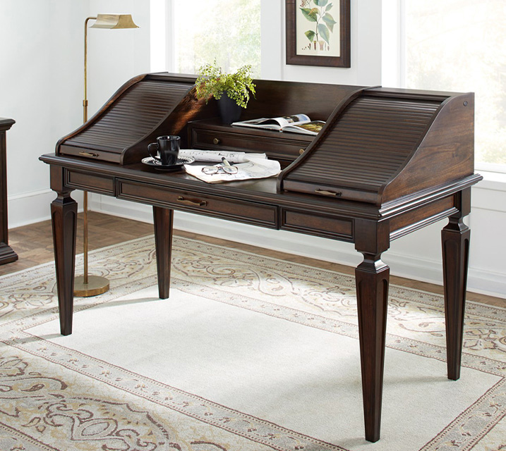 [렌탈] i91-361 Grand Classic Roll Top Writing Desk / 월 63,800원