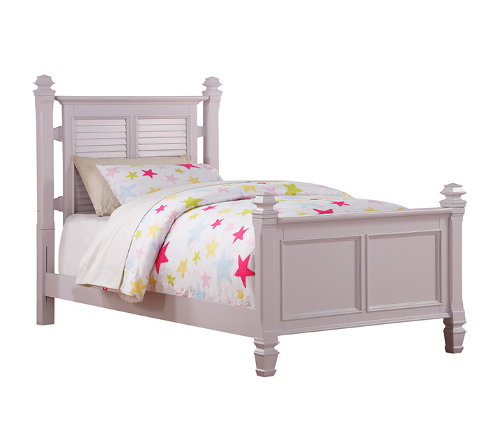 [렌탈] 2697 'Belmar Youth' Collection - Full Poster Bed 주니어 풀 (더블) 침대 [ 매트리스 포함 ] - 라벤더 / 월 77,800원