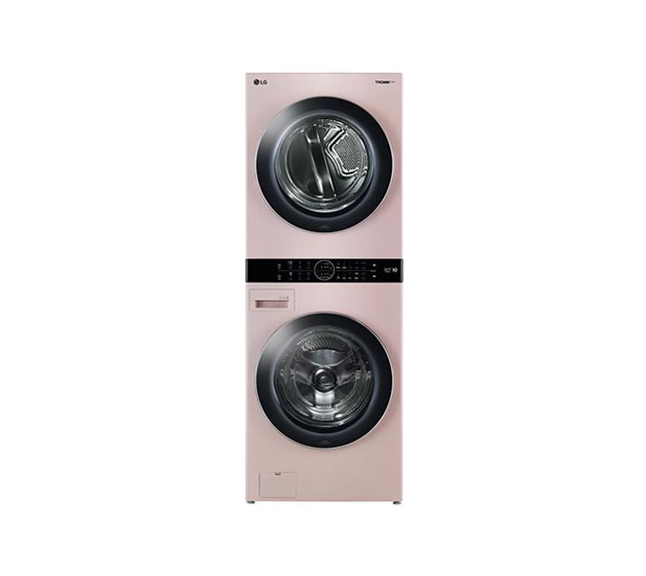[L_렌탈] LG 워시타워 세탁기(21kg)+건조기(16kg) 코랄핑크 W16PS / 월113,000원