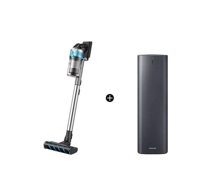 [렌탈] 삼성 제트 200W 무선청소기 민트 청정스테이션 패키지 + 펫브러시 추가 VS20T9279S6CS / 월 34,500원