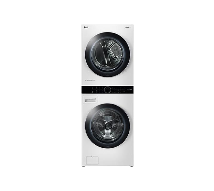 [L_렌탈] LG 워시타워 세탁기(21kg)+건조기(16kg) 화이트 W16WT / 월99,900원