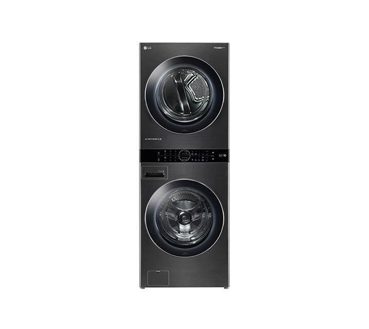 [L_렌탈] LG 워시타워 세탁기(21kg)+건조기(16kg) 블랙 W16KT / 월109,000원