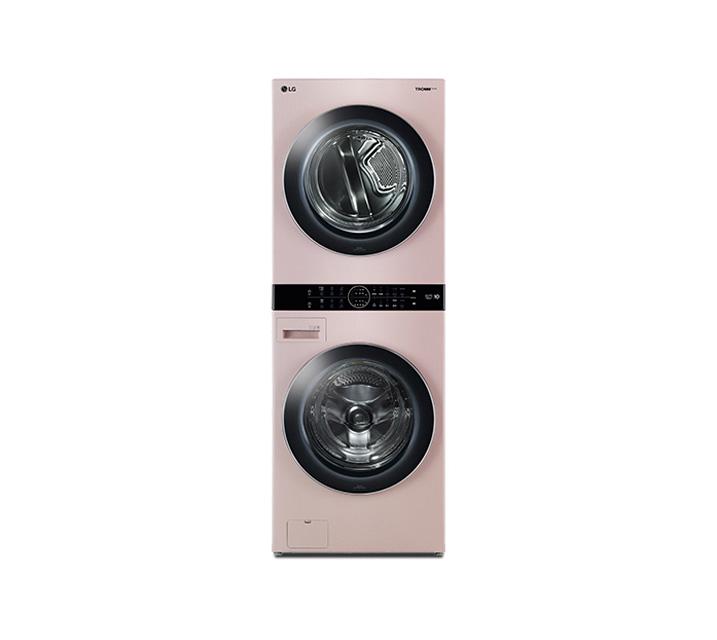 [L_렌탈] LG 워시타워 세탁기(21kg)+건조기(16kg) 코랄핑크 W16PT / 월109,000원