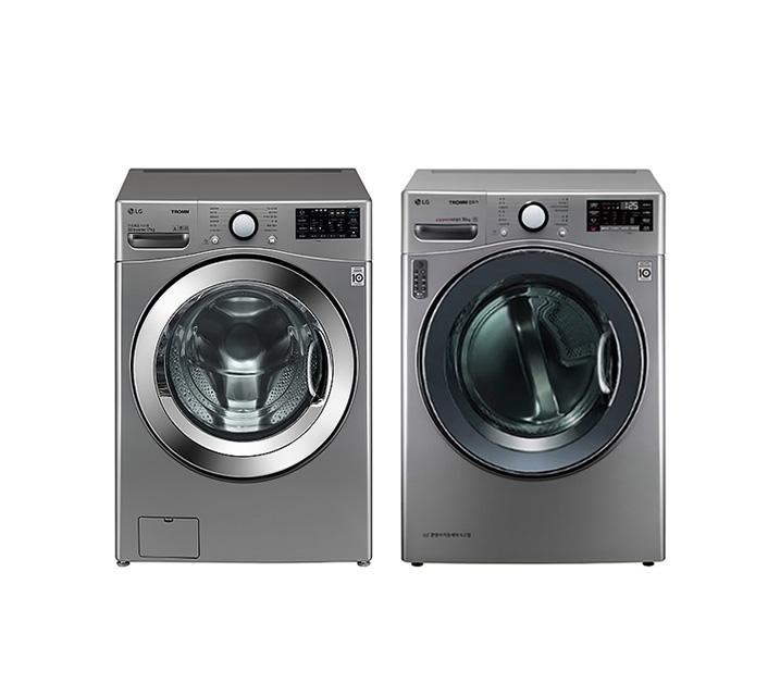 [L_렌탈] LG 드럼세탁기 17Kg + 건조기 14Kg F17VDAP(PKG) / 월73,900원