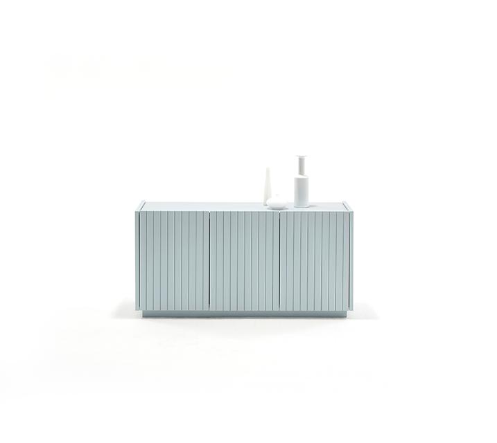 [렌탈] 무광 레트로시리즈 라인 저상형 도어 거실장 1200 / 월 17,800원