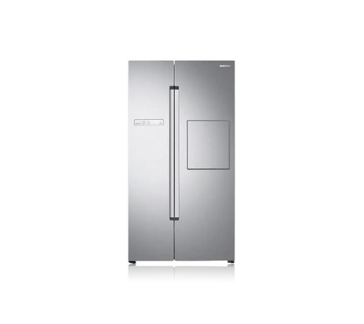 [렌탈] 삼성 양문형냉장고 프리스탠딩 815L 실버 리얼메탈 RS82M6000S8  / 월 27,500원